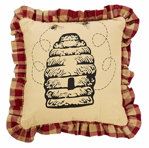 "Cambrie Lane Pillow Beehive Stencil 10x10"" Brand VHC"