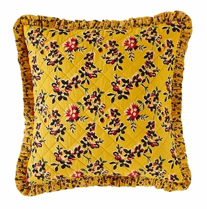 "Cambrie Lane Pillow Quilted 16x16"" Brand VHC"