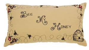 "Cambrie Lane Pillow Stencil 7x13"" Brand VHC"
