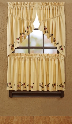 "Cambrie Lane Tier Bees Lined Set of 2 L24xW36"" Brand VHC"