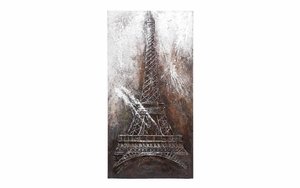 Canvas Art Eiffel Tower To Bring The Greatness To Wall Decoration Brand Woodland