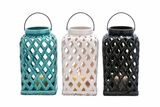 Captivating Shanghai Ceramic Lantern 3 Assorted by Woodland Import