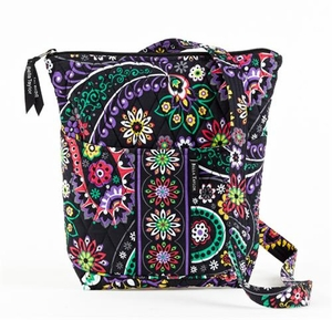 Carnevale Style Backpack - Quilted Hipster Purse By Bella Taylor Brand VHC