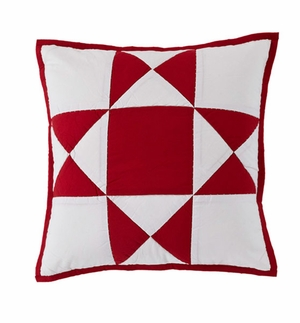 """Carolina Pillow Quilted 16x16"""" Brand VHC"""