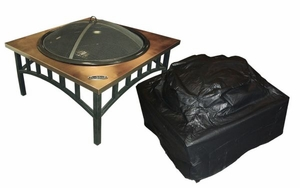 Carpi Fire Pit Vinyl Cover, Fabulous And Protective Unit by Well Travel Living