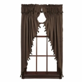 Carrington Prairie Curtain Set of 2 63x36x18