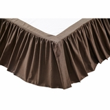 Carrington Twin Bed Skirt 39x76x16 - 20032 by VHC Brands