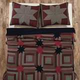 Carson Star Twin Quilt 86x68 - 25367 by VHC Brands