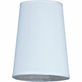 Cascade Collection Attractive Lamp Shades for The TWC family in White by Yosemite Home Decor