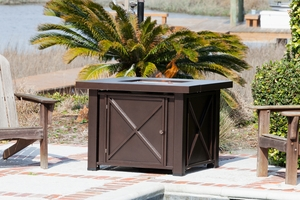Casoria LPG Fire Pit, Safe And Robust Heating Accessory by Well Travel Living