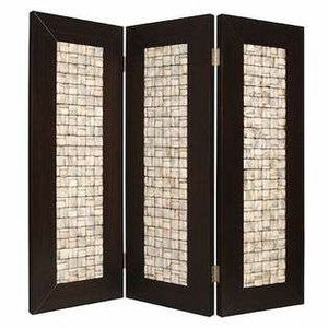 Catalina Screen Crafted with Pearl Shell in Rectangular Pattern Brand Screen Gem