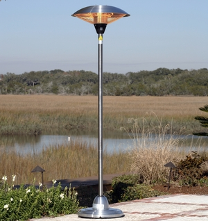 Catania Floor Standing Halogen Patio Heater, Tremendously Constructive Unit by Well Travel Living