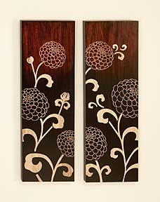 Caught in the Dream Wood Wall Decor Sculpture - Set of 2 Brand Woodland