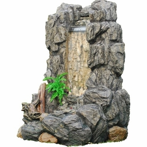 Cave Wall Stone Like Waterfall Gorgeous Decor Natural Theme Inspired Brand Domani
