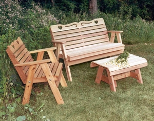 Cedar Country Hearts Furniture Collection by Creekvine Design