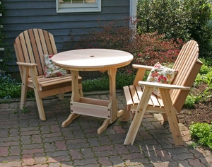 Cedar Fanback Bistro Set by Creekvine Design
