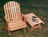 Cedar Fanback Patio Chair by Creekvine Design