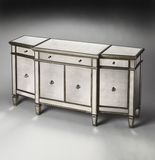 "Celeste Mirrored Buffet 68""W by Butler Specialty"