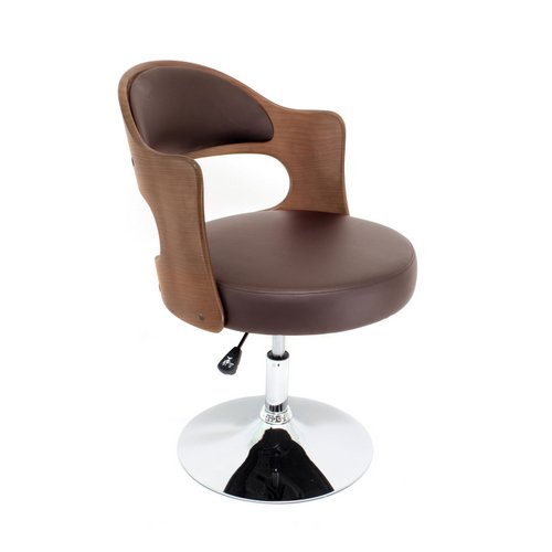 Buy Cello Chair Walnut Brown by LumiSource at
