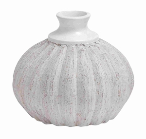 Cer Quasa Short Vase with Rich Design and Natural Texture Brand Woodland