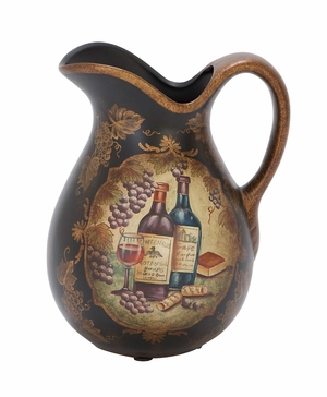 Ceramic Pitcher Unique Bar Accessory Collection Upgrade Brand Woodland
