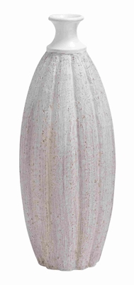 Ceramic Quasa Tall Vase with Rich Design and Natural Texture Brand Woodland