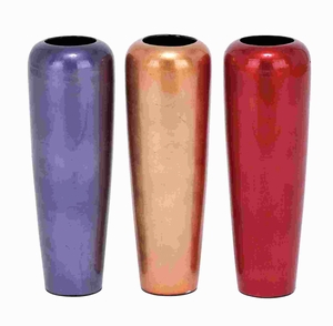 Ceramic Vase Assorted Stable Base with Smooth Finish (Set of 3) Brand Woodland
