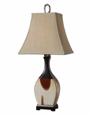 Cervatto Ceramic Table Lamp with Intricate Detailing Brand Uttermost