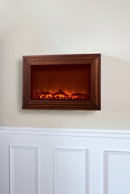 Cesena Wall Mounted Electric Fireplace, Glorious And High-Powered Entity by Well Travel Living