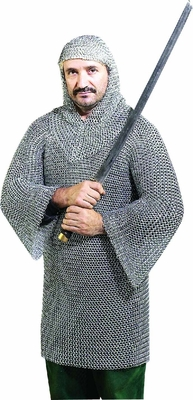 Chain Mall Medieval Steel Body Gladiator Armor Suit - Set of 2 Brand Woodland