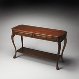 "Channing Plantation Cherry Console Table 50""W by Butler Specialty"