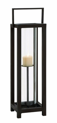 Chao Shuang (Ultra Cool) Metal Glass Candle Holder by Woodland Import