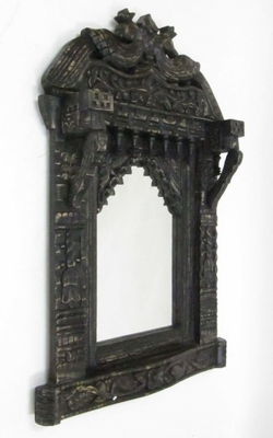 Charleroi Jharokha With Mirror, Delightful and Tantalizing Art Embellishment Brand IOTC