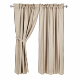 Charlotte Slate Scalloped Short Panel Set of 2 63x36 - 25805 by VHC Brands