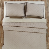Charlotte Twin Quilt 90x70 - 25775 by VHC Brands