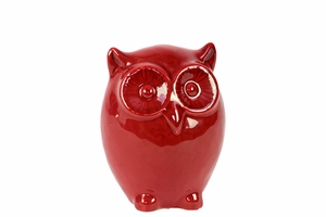 Charming and Sweet Ceramic Wide Eyes Owl