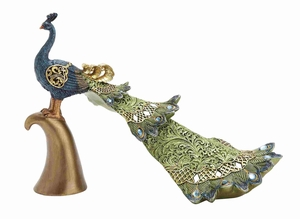 Charming Decorative Peacock Styled Home D�cor Brand Benzara