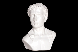 Chelmsford's Unique Attractive Ceramic Bust by Urban Trends Collection