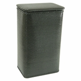 Chelsea Collection Apartment Hamper in Black by Redmon
