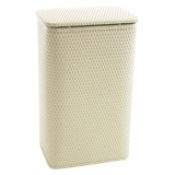 Chelsea Collection Apartment Hamper in Cream by Redmon