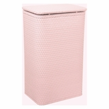 Chelsea Collection Apartment Hamper in Crystal Pink by Redmon