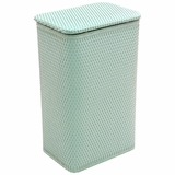 Chelsea Collection Apartment Hamper in Herbal Green by Redmon