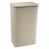 Chelsea Collection Apartment Hamper in Mocha by Redmon