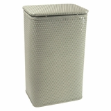 Chelsea Collection Apartment Hamper in Sage Green by Redmon