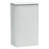 Chelsea Collection Apartment Hamper in White by Redmon