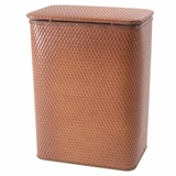 Chelsea Collection Decorator Color Wicker Hamper in Nutmeg by Redmon