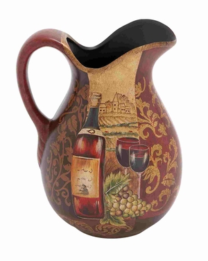 Chi-Chui magnificent Ceramic Pitcher Brand Benzara