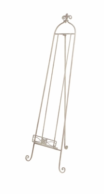 Chic Contemporary Styled Metal Floor Easel by Woodland Import