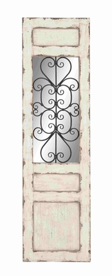 Chichester Well Designed Wood Metal Wall Panel Brand Benzara