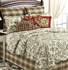 Chickadee Oversized Floral King Quilt with Cotton Fill Brand C&F